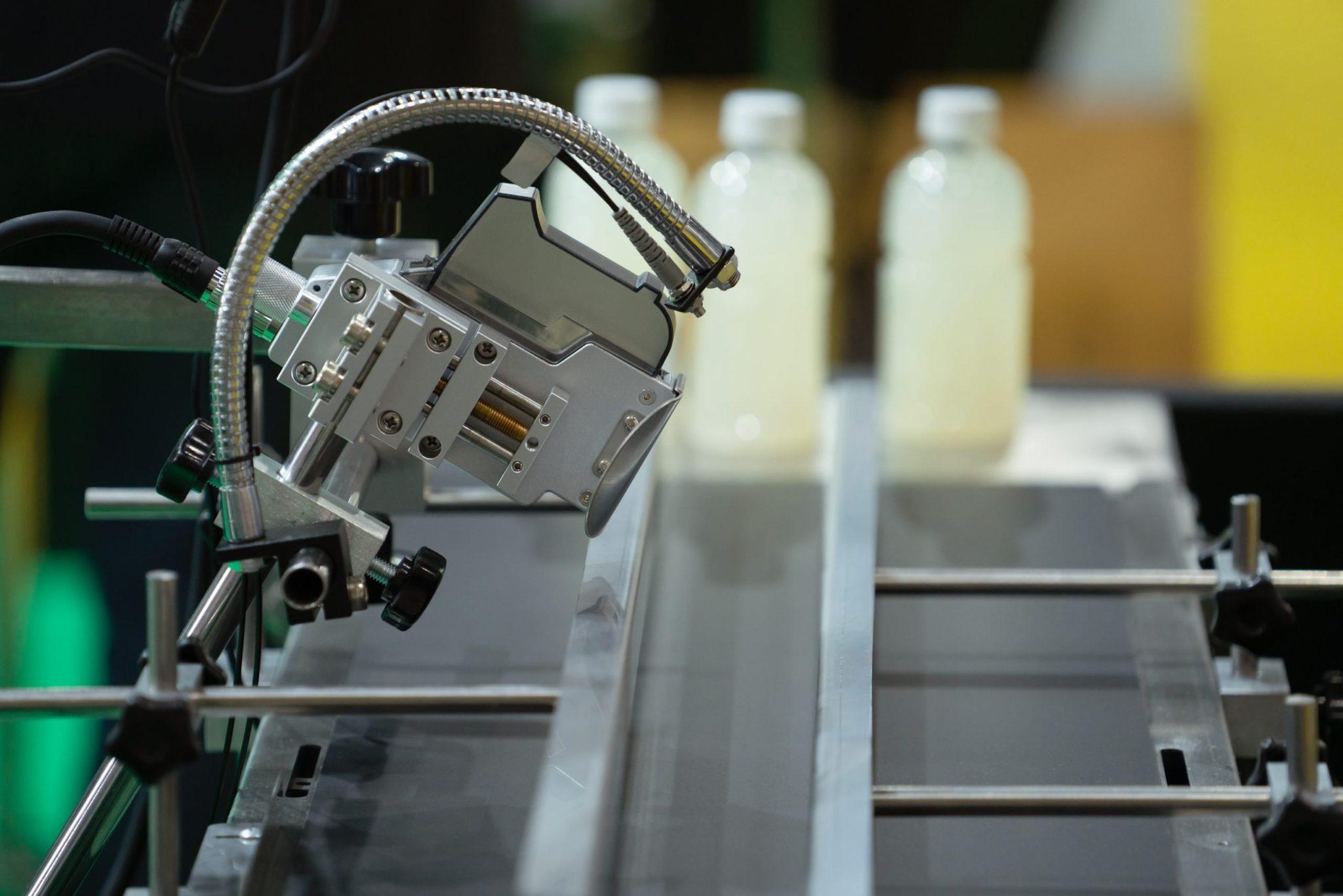 photosensor and proximity sensor in automation line