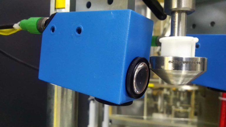 color mark sensor in the automation line